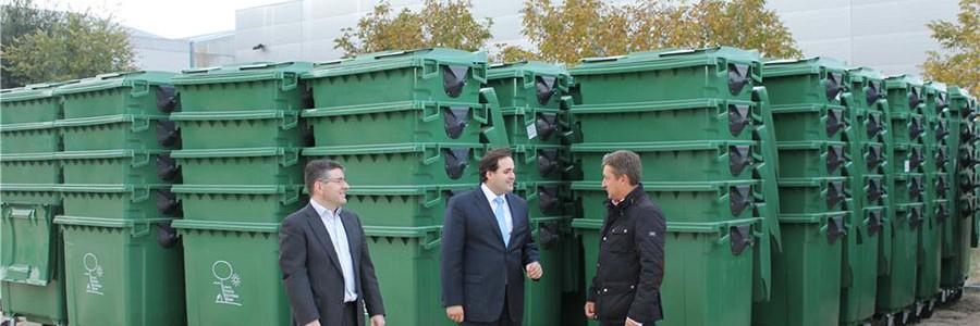 La provincia de Albacete renueva su parque de contenedores de RSU