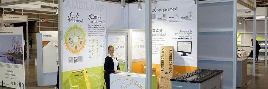 AMBILAMP lleva el reciclaje de lámparas a las Ferias de Medioambiente y Energía-RSE
