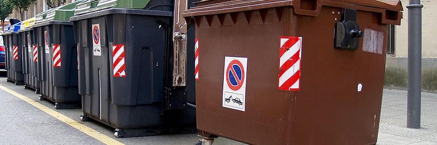 La Margen Izquierda del Gran Bilbao estrena el 5º contenedor para residuos orgánicos