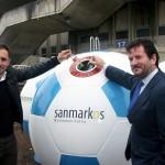 Contenedores 'balón' para fomentar el reciclaje en zonas deportivas