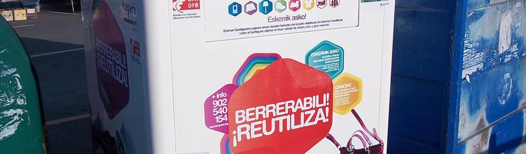 Gernika contará con seis nuevos contenedores de reutilización de residuos