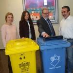 Nuevos contenedores para fomentar el reciclaje entre los escolares de Nerja