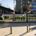 Utilizan materiales reciclados para reducir el ruido de los tranvías