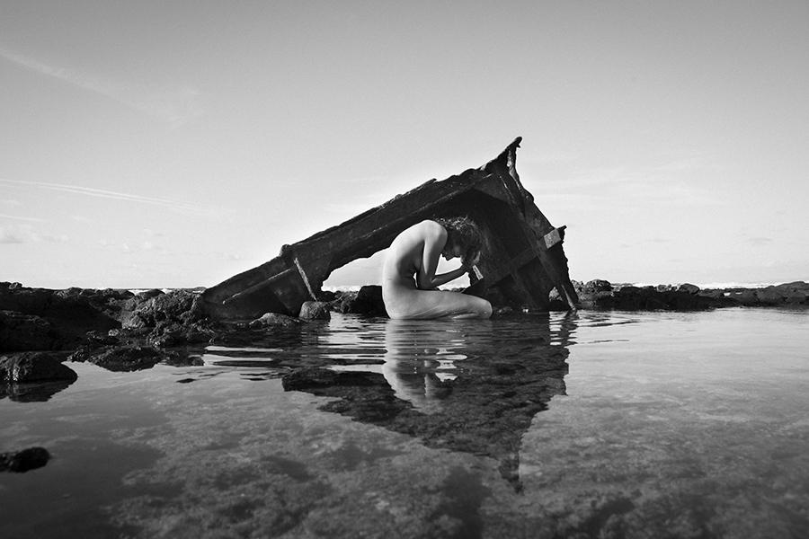The waste coast, obra de la española ZIreJa, ha obtenido el premio del público. © zireja (Irene Sanfiel), EEA Waste•smart 2013