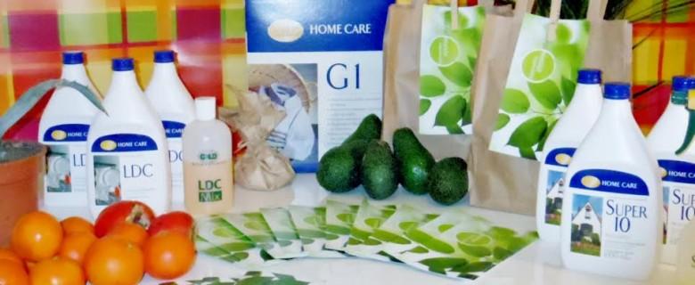 Productos limpieza GNLD