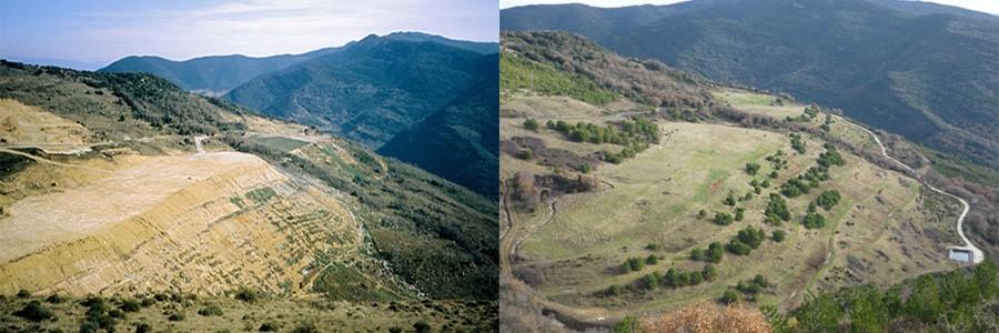 Concluida la recuperación ambiental del vertedero de Arguiñáriz (Navarra)