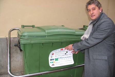 Contenedores de residuos como soporte de comunicación ambiental