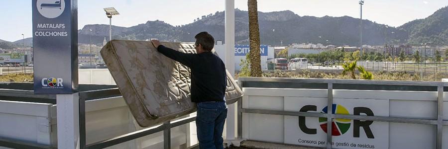 Los ecoparques de la Comunidad Valenciana recuperan 125.000 toneladas de residuos al año