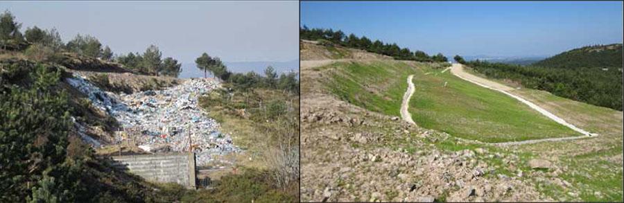 Clausurado el último vertedero ilegal de Galicia