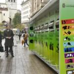 El punto limpio móvil de Santander recogió 28.000 kilos de residuos de origen doméstico en 2013
