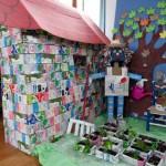 Un colegio de Navarra gana el concurso nacional de reciclaje y reutilización de envases de tetrabrik