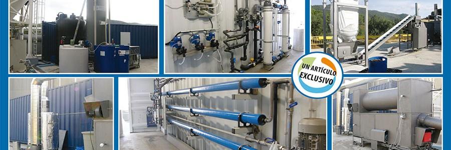 Planta experimental para el tratamiento de los residuos de papelera y concentración de salmueras: conclusiones del proyecto RESALTTECH