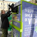 Nuevos contenedores para el reciclaje textil en Granada