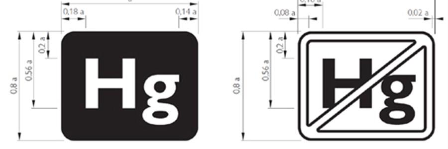 Dos nuevos logotipos identificarán las pantallas que contienen mercurio para facilitar su reciclado