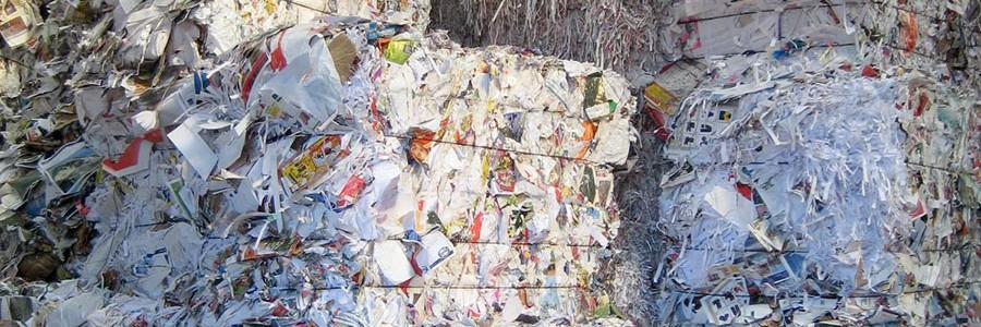 La UE no tiene capacidad para reciclar todo el papel y cartón recuperado