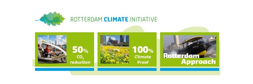 La ciudad portuaria de Rotterdam apuesta por minimizar los efectos del cambio climático