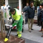 Almería incorpora nuevos equipos eléctricos para el aseo urbano de la ciudad