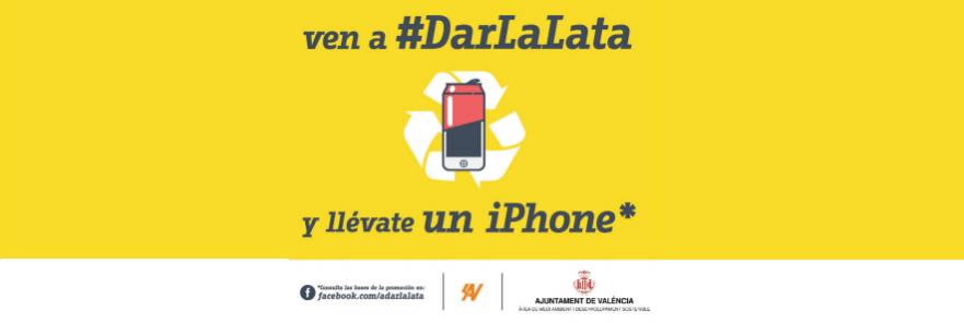 El Ayuntamiento de Valencia sortea un iPhone 5 entre quienes reciclen sus latas durante las Fallas