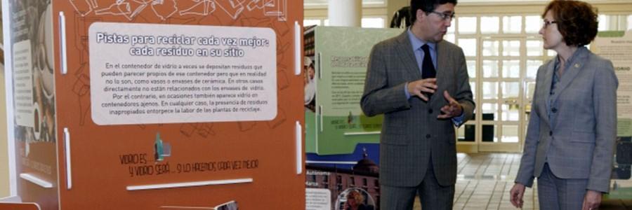 Una campaña de sensibilización en Aragón mostrará todo el ciclo de reciclaje del vidrio