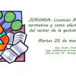 Empresas del sector residuos de Galicia debatirán en Santiago de Compostela la nueva normativa de licencias municipales