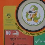 Parla instala contenedores para recoger aceite usado de cocina