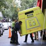 Las campanas verdes de reciclaje llegan al barrio de Recoleta en Buenos Aires