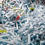El uso indiscriminado de trituradoras de papel impide su reciclado