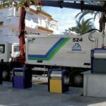 Rota instala 54 nuevos contenedores soterrados de recogida de residuos