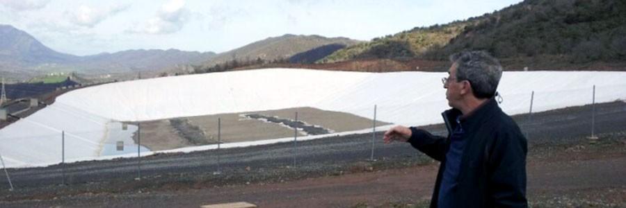 Comienzan las obras de desmantelamiento del antiguo vertedero de Bailín, en Sabiñánigo (Huesca)
