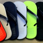 Primeras sandalias totalmente recicladas a partir de neumáticos usados