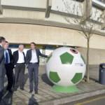 Los contenedores 'balón' llegan a Santander