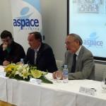 Nueva línea de reciclaje de aparatos eléctricos en la planta Ecointegra de Aspace en Aoiz