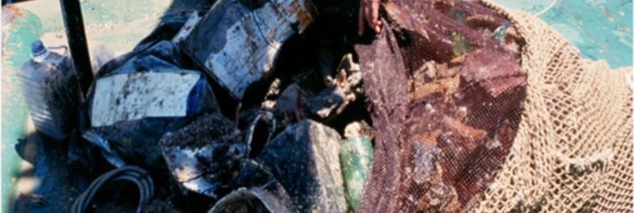 Revelan la existencia de auténticos vertederos en los fondos marinos