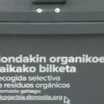Los grandes productores de Donostia se suman a la recogida selectiva de residuos orgánicos