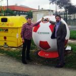 Refuerzan la contenerización para el reciclaje de vidrio en el Txorierri (Bizkaia)