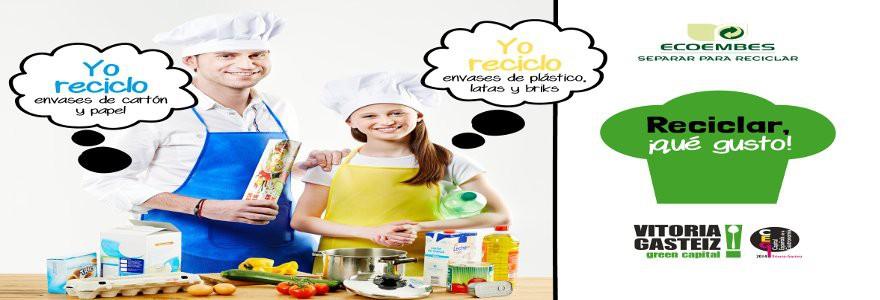 Nueva campaña para fomentar la separación selectiva de residuos en Vitoria-Gasteiz