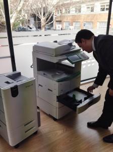 Toshiba impresoras papel reutilizable