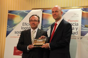 Trond Johansen de Allison con el Premio