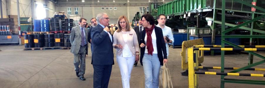 La gestión de residuos lidera la economía verde en Andalucía