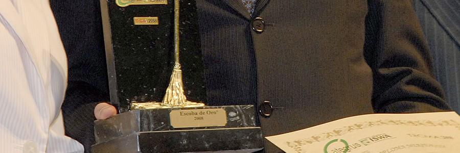 Entrega XIV Premios Escobas de Oro en TECMA 2014