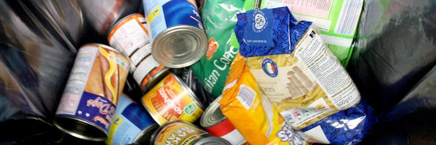 Reino Unido: la cuarta parte de los alimentos desechados están empaquetados y sin abrir