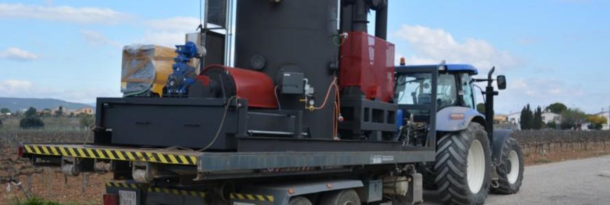 Premian un reactor de pirólisis para residuos leñosos desarrollado en la ULE