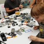 Reutilización y reciclaje de residuos electrónicos en la Casa Encendida de Madrid