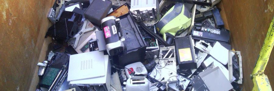 Recyclia gestionará también residuos de equipos informáticos de gama marrón