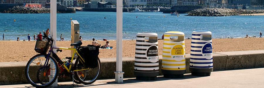 El reciclaje también 'se va de vacaciones'
