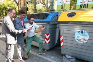 Presentación de la aplicación móvil para mejorar el reciclaje