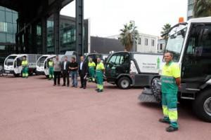 Sabadell renueva su flota de aseo urbano