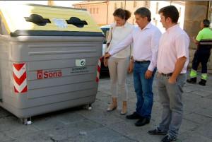Soria, a la cabeza del reciclaje en España
