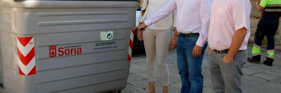 Soria, la ciudad española que mejor recicla