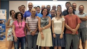 Los investigadores del proyecto MICROBIOFIN trabajan de forma conjunta en el aprovechamiento energético del biogás